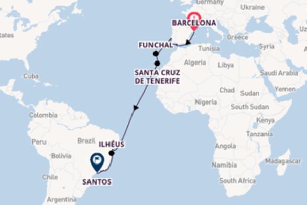 Geniet van het indrukwekkende Cádiz met MSC Cruises