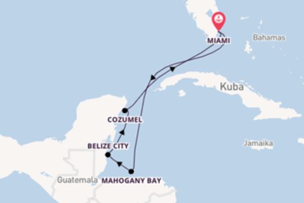 7 Tage Karibik Reise