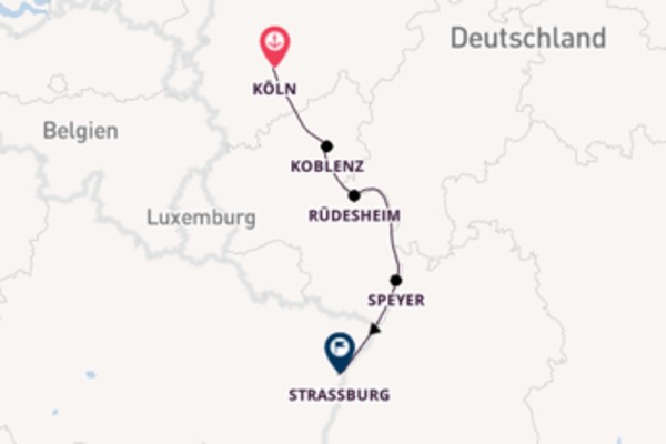 Adventzauber am Rhein