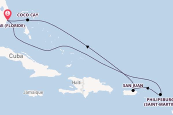 Envoutante virée de 8 jours depuis Miami