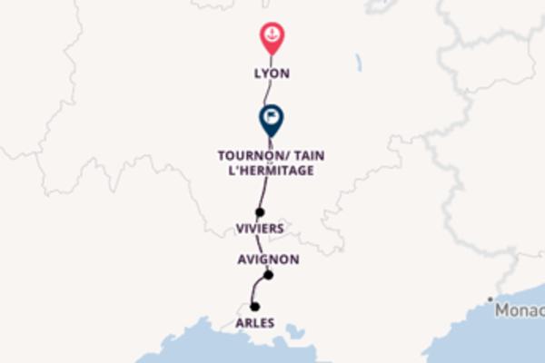 Journey with CroisiEurope from Lyon to Tournon/ Tain L'Hermitage