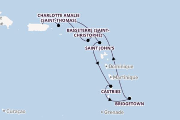Somptueuse balade de 8 jours à bord du bateau Freedom of the Seas
