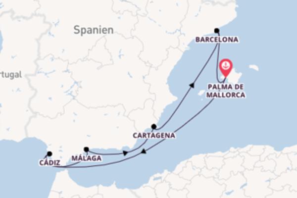Erkunden Sie Cartagena ab Palma de Mallorca