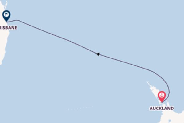 5daagse reis aan boord van de Coral Princess