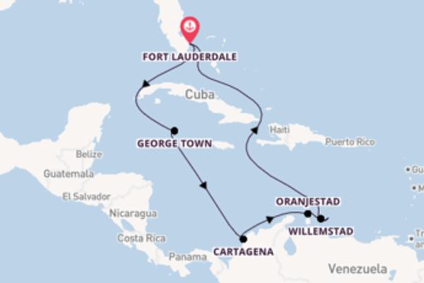 12-daagse cruise vanaf Fort Lauderdale