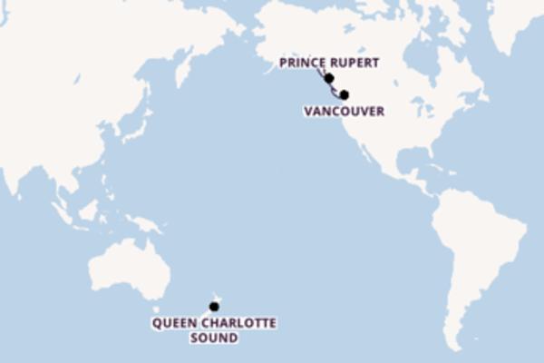 15 giorni di crociera fino a Juneau