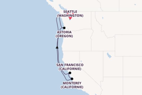 Croisière de 8 jours vers Seattle (Washington) avec Princess Cruises