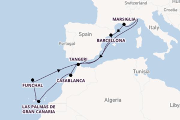 15 giorni verso Savona passando per Funchal