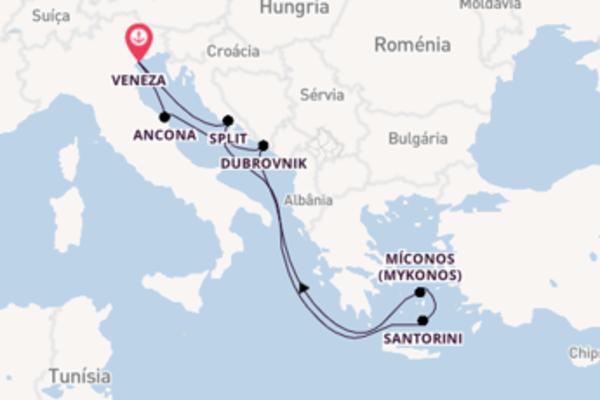 Belíssimo cruzeiro de 8 dias a bordo do MSC Opera