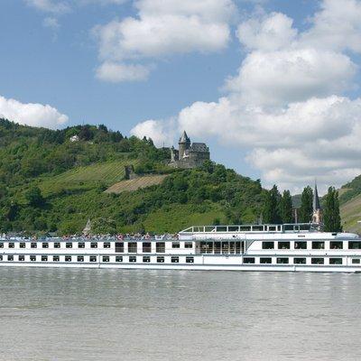 Cruise langs de oude kastelen aan de Rijn