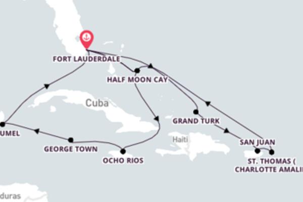 Viaje 15 dias a bordo do Eurodam