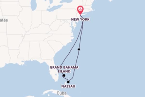9-daagse cruise met de Norwegian Getaway vanuit New York