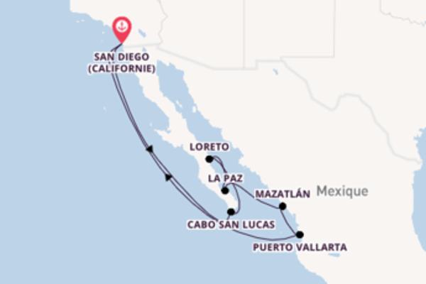Charmante virée de 11 jours depuis San Diego (Californie)