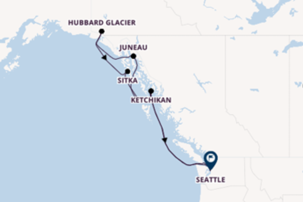 8 day journey from Puget Sound to Seattle