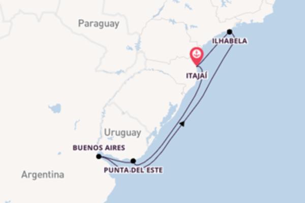 8-daagse reis naar Itajaí
