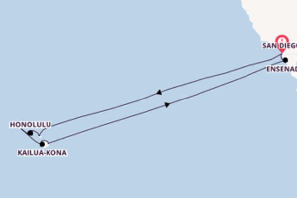 Cruise met Carnival Cruise Line naar Kahului, Hawaï