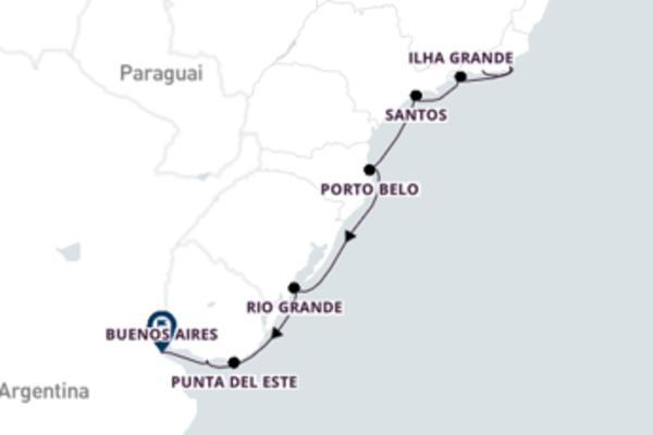 Belíssima viagem de 11 dias até Buenos Aires