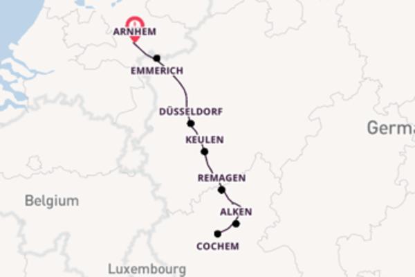 Over de Rijn en Moezel naar Cochem