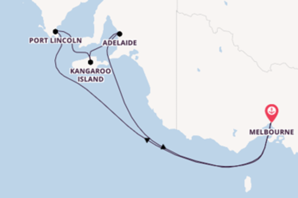 7 day voyage on board the Sapphire Princess from Melbourne