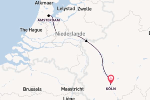 Erleben Sie Amsterdam, Niederlande auf der VistaSky