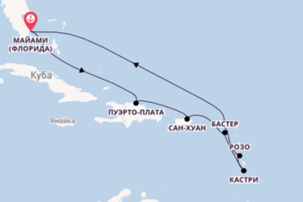 Фееричный вояж с Regent Seven Seas Cruises