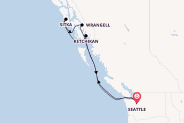 8-daagse reis naar Seattle