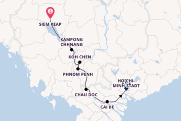10 Tage Mekong Reise