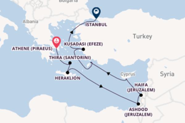 Cruise in 13 dagen naar Istanbul met Oceania Cruises