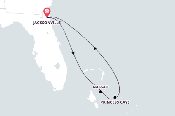 Explore Breathtaking Nassau from Jacksonville, Florida