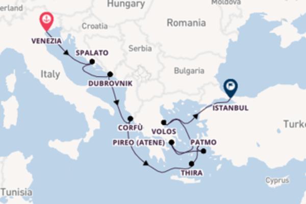 Piacevole viaggio di 10 giorni verso Istanbul