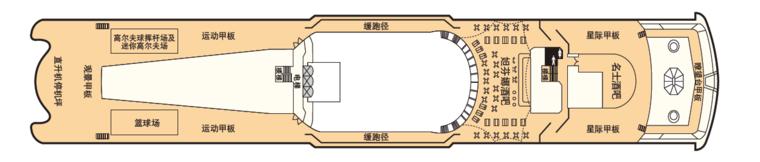 处女星号 Deck 13