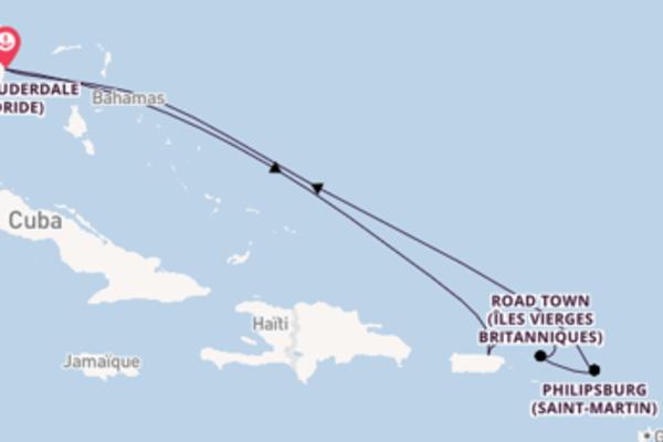Croisière de 8 jours vers Fort Lauderdale avec Celebrity Cruises