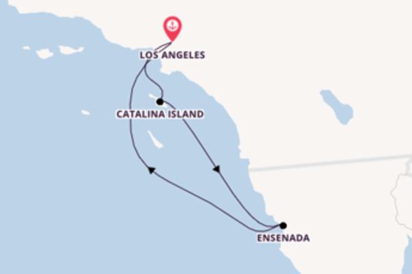 Von Los Angeles über Catalina Island in 5 Tagen