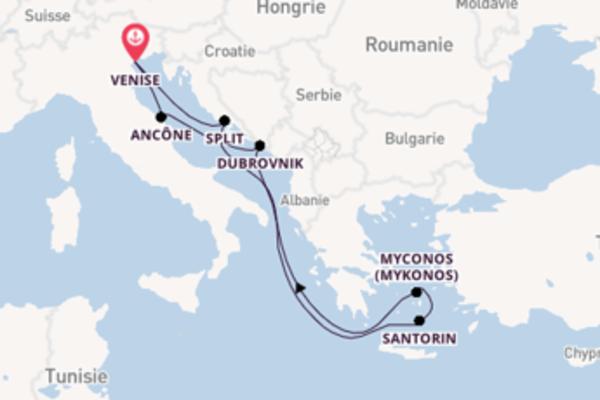 Croisière de 8 jours vers Venise avec MSC Croisières