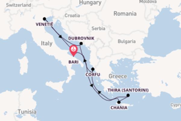 8-daagse droomcruise vanuit Bari
