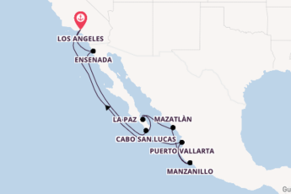 11 day voyage from Los Angeles