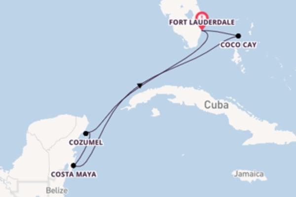 7 giorni di crociera da Fort Lauderdale
