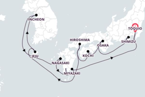 Navegue a bordo do Seven Seas Explorer em 15 dias