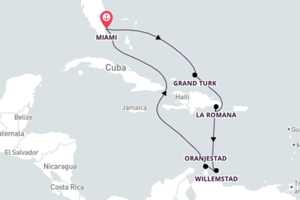 Spectacular Oranjestad with Carnival Cruise Lines