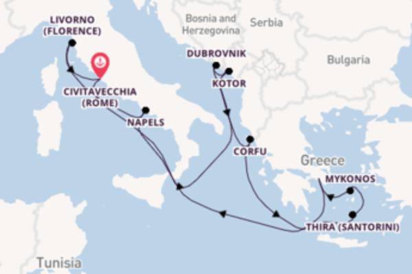 Geniet van het stralende Napels met Norwegian Cruise Line