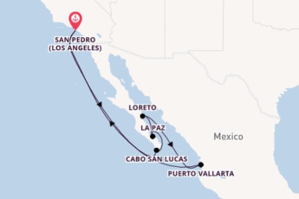 11 giorni verso San Pedro (Los Angeles) passando per Loreto