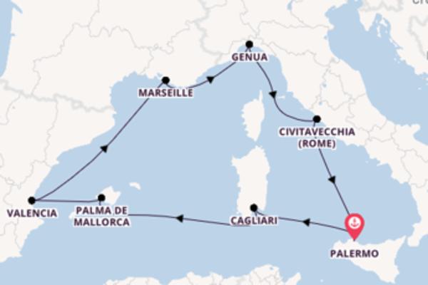 Geniet van het charmante Genua met MSC Cruises