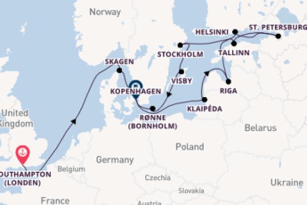Helsinki aanschouwen met de Island Princess