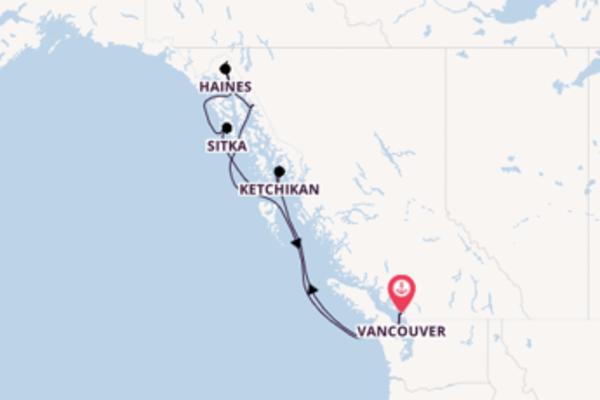 Von Vancouver über Sitka in 8 Tagen