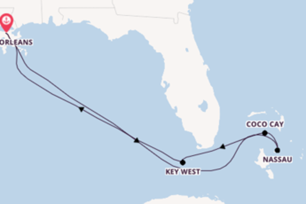 Journey with Royal Caribbean from New Orleans
