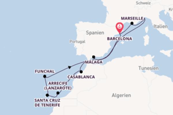 Begeisternde Reise über Funchal in 15 Tagen