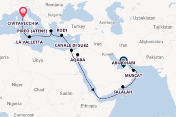 Sensazionale crociera di 18 giorni verso La Valletta a bordo di MSC Virtuosa