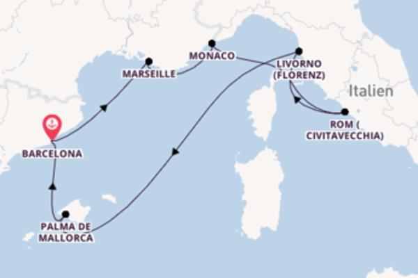 Beeindruckende Reise ab Barcelona