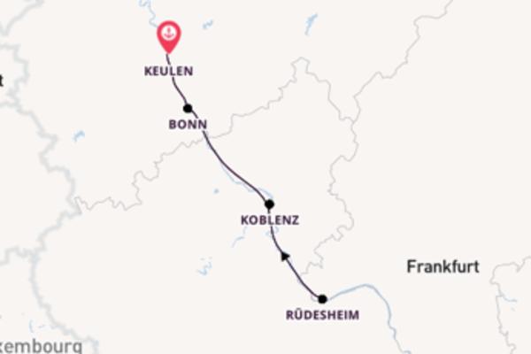 3-daagse cruise naar Bonn