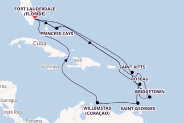 Superbe balade pour découvrir Antigua (Antigue)